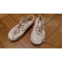 Zapato Zara Tipo Alpargata, Talle 28, En Muy Buen Estado !!!