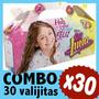 Soy Luna Cajita Valijita Bolsita Cumple Infantil Combo X30
