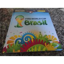 Álbum Figurinhas Copa Mundo 2014 - Capa Dura - Completo