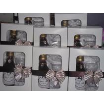 Mini Vinho Personalizado Na Caixinha+tacinha Kit Com 50 Unds