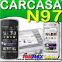 Carcasa Nokia N97 Negra Teclado Tapa Boton De Desbloqueo