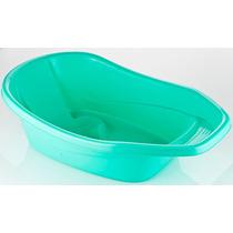 Alfa Bañera Ponchera Para Bebe Plástica Verde Envio Gratis