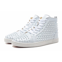 Sneaker Christian Louboutin Men White Spikes