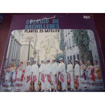 Lp Grupo Musical Colegio De Bachilleres, Envio Gratis