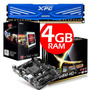 Combo Amd 4000 + Ram 4gb + Board Asus A68 Plus
