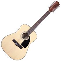Guitarra Acustica 12 Cuerdas Fender Cd-100 Natural Mahogany