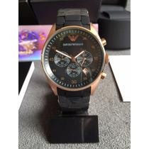 Relógio Emporio Armani Ar5905 Rose Original Completo Caixa