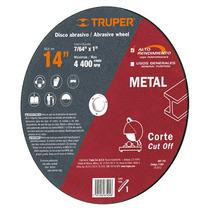 Disco Abrasivo Corte De Metal Cortadora 9 Pulg Truper 12568