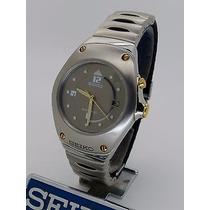 Relógio Seiko Feminino Kinetic A Prova Da Água, 3m22-0d39