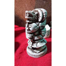 Dioses Mayas En Piedra Caliza. Para Exteriores O Peseras