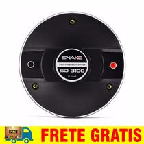 Driver Titanio Snake Sd 3100 Sd3100 Ti Cx Corneta Guia Onda