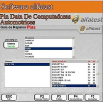 Software Pin Data De Computadoras Automotrices