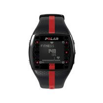 Reloj Monitor Frecuencia Cardiaca Polar Ft7 Rojo - Negro