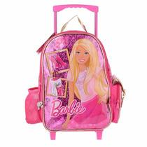 Mochila De Carrito Barbie Con Licencia Original 14