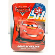 Cars Rayo Macqueen Y Mate - 2 Rompecabezas Originales Disney