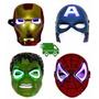Mascara Vengadores, Avengers Iron Man Capitan America Hulk