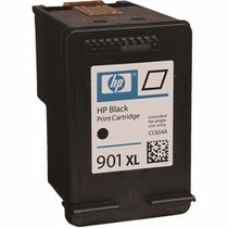 Cartucho Hp 901 Xl Black 20ml Primeira Carga