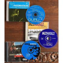 Guru Jazzmatazz Hip Hop Y Musicos De Jazz 3 Cd