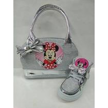 Botas,botín Deportivo Para Niñas Hello Kitty..mickey..peppa