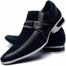 Sapato Social Masculino Em Couro Legitimo Dhl Calçados
