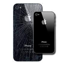 Tapa D Cristal Iphone 4/4s Blanco/negro+desarmador+tornillos