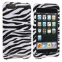 Zebra Skin Phone Protector Funda Para Apple Ipod Touch (2 ª