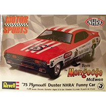 Kit Revell 125 Mangosta Plymouth Duster Divertida Del Coch