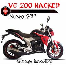 Moto Gilera Vc 200 Nacked Modelo 2016 0km