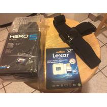 Gopro Hero 5 Black Edition 4k Control De Voz, Gps. Extras