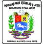 Distintivo Insignias Sublimadas Fullcolor, Escuelas Y Liceos