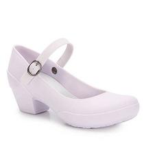 Sapato Boneca Salto Feminino Boa Onda - Branco