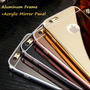 Funda Iphone 4s 5c 5s 5se 6s 6 Plus Bumper Aluminio Espejo