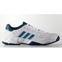 Zapatillas Adidas Tenis Barricade Court 2 White/green