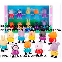 Amigos Peppa Pig Miniaturas10 Pçs Sob Encomenda Leia Anúncio