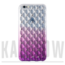 Funda Transparente Con Brillantes Fading Iphone 6 6s Plus