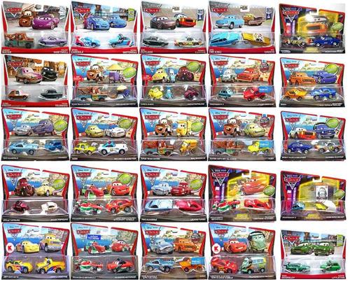 Cars disney mater mcquee francesco nigel max finn set - Cars en juguetes ...