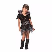 Disfraz Arañita Mujer Araña Talle Niña 4 A 5 Años Halloween