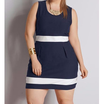 Vestido Social Formal Casual Plus Size