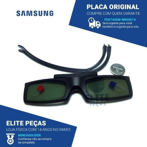 aaf9fc68f2c10 Oculos 3d Samsung Bn96-25614a - R  75,00 em Mercado Livre