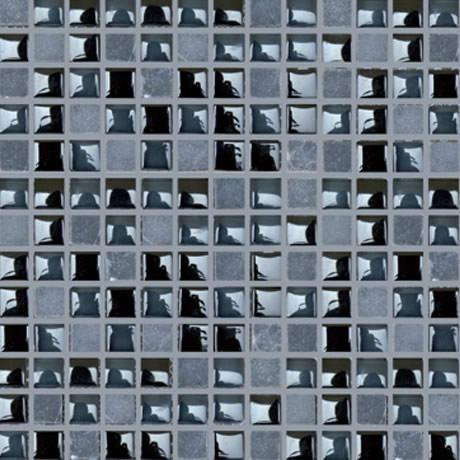 Maa malla decorativa para muro terra grafito castel 30x30 - Pegatinas decorativas para banos ...