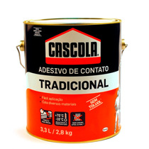 Cola Adesiva Cascola Tradicional 2,8 Kilos / 3,3 Litros