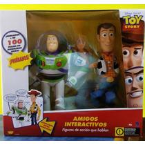 Buzz Lightyear Y Woody Interactivos Toy Story Envio Gratis