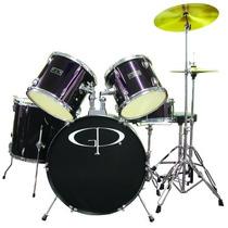 Gp Percussion Reproductor De Batería Negro