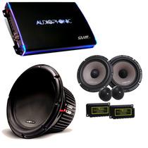 Kit Pro Audiophonic C/ Club 800.4 + C1-10d2 + Ks6.2