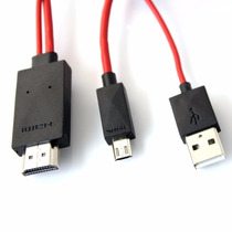 Cable Adaptador Mhl Usb Hdmi Samsung S3 S4 Note 2 Tv 1080p
