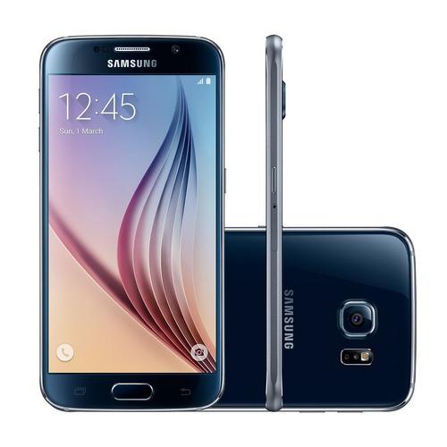 Celular Samsung Galaxy S6 32gb Azul 16mp - $ 5,099.00 en