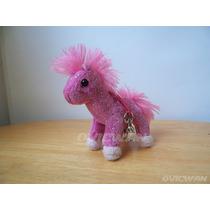 Llavero Caballo Rosa 9 Cm Pink Horse Cuddle Toys Pch125