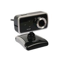 Camara Web Webcam Gtc 010c/luz Y Microfono Boton Saca Fotos