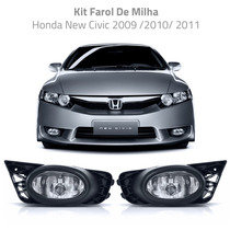 Kit Farol De Milha Honda New Civic 2009 /2010/ 2011