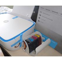 Impressora Multifuncional Hp 3636 C/ Bulk Ink Elegance 400ml